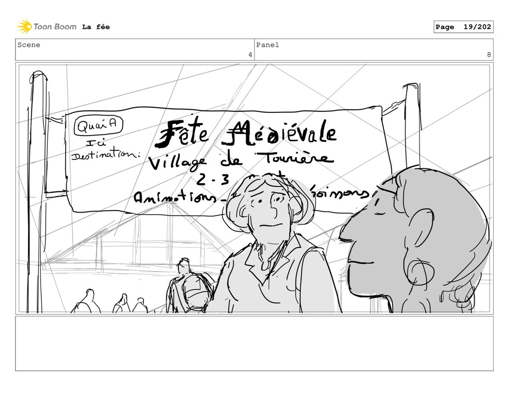 Scene 4 Panel 8 La fée Page 19/202