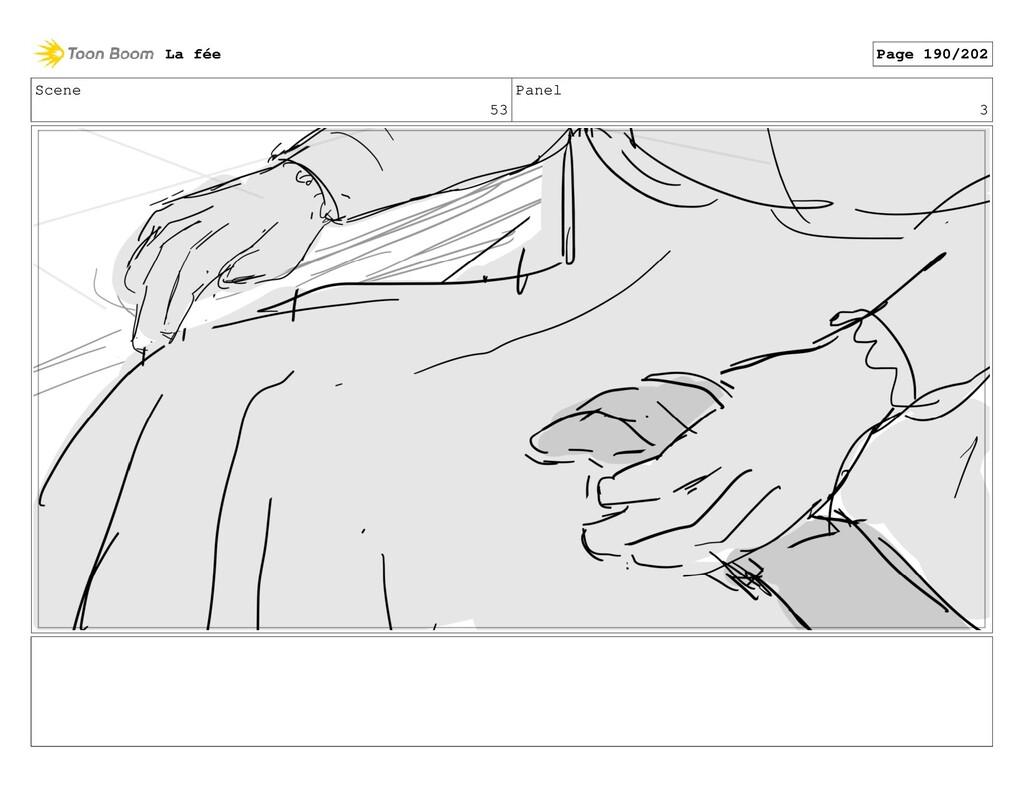 Scene 53 Panel 3 La fée Page 190/202