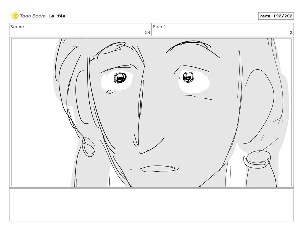 Scene 54 Panel 2 La fée Page 192/202