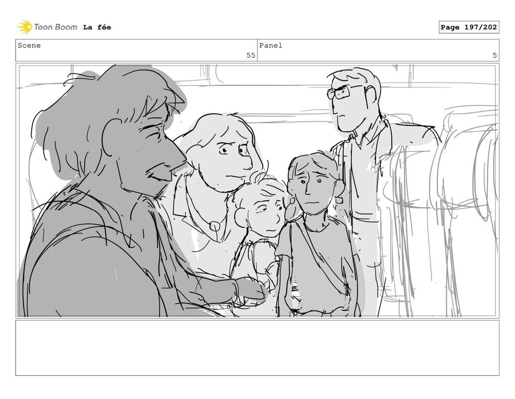 Scene 55 Panel 5 La fée Page 197/202