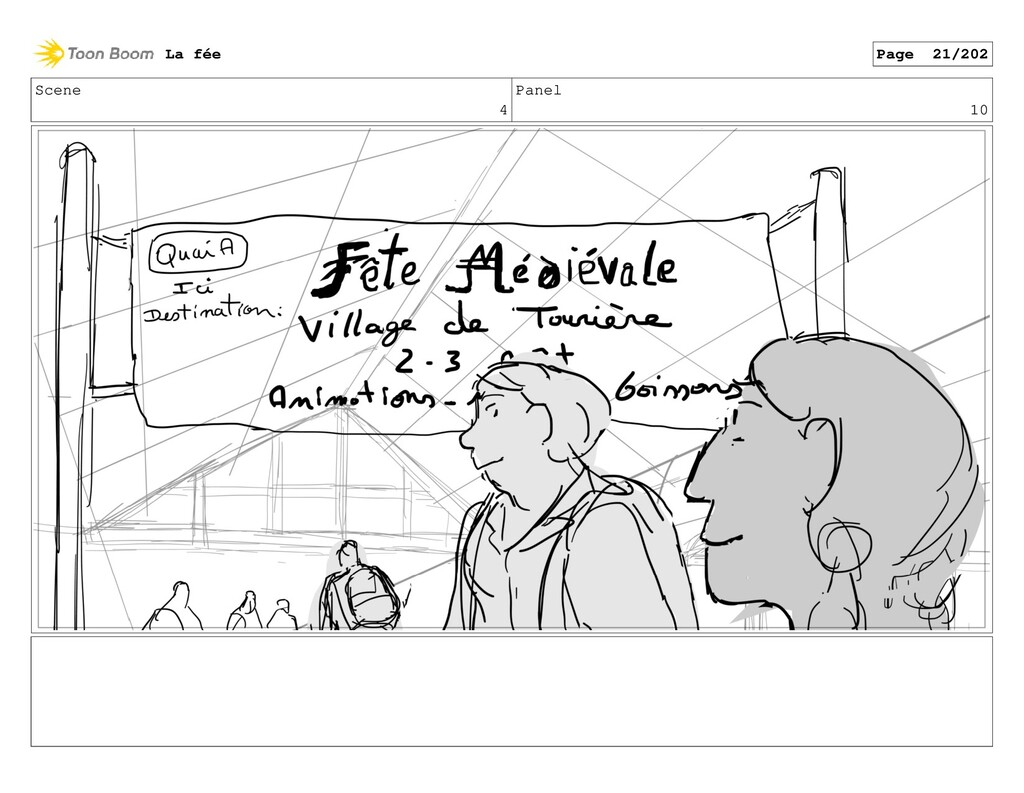 Scene 4 Panel 10 La fée Page 21/202
