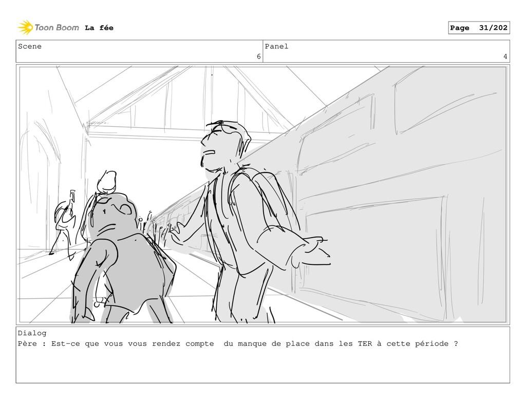 Scene 6 Panel 4 Dialog Père : Est-ce que vous v...