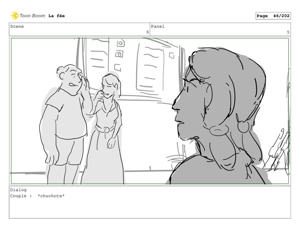 Scene 9 Panel 5 Dialog Couple : *chuchote* La f...