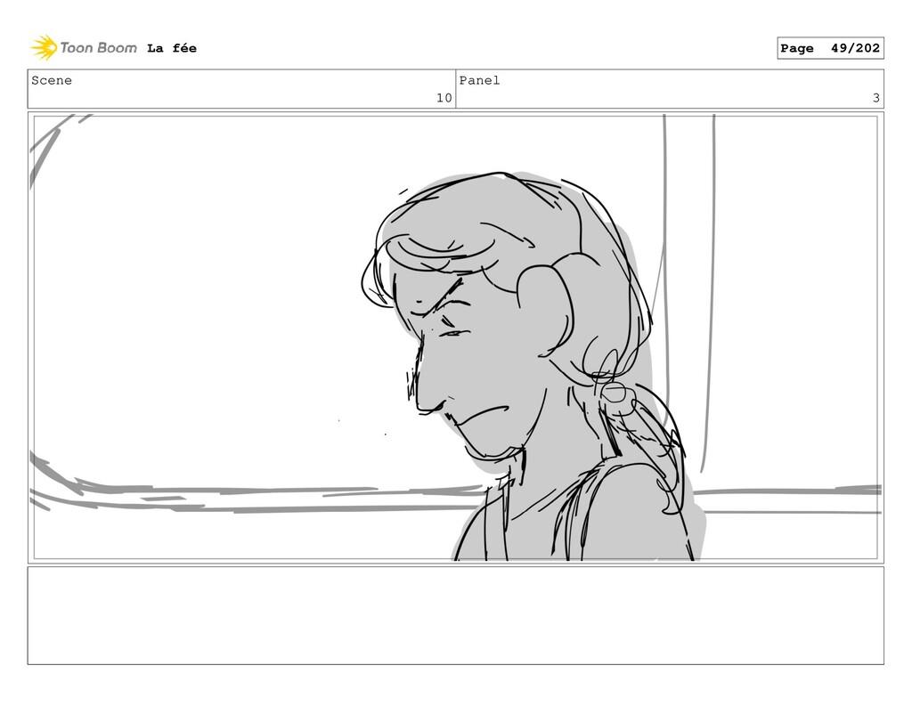 Scene 10 Panel 3 La fée Page 49/202