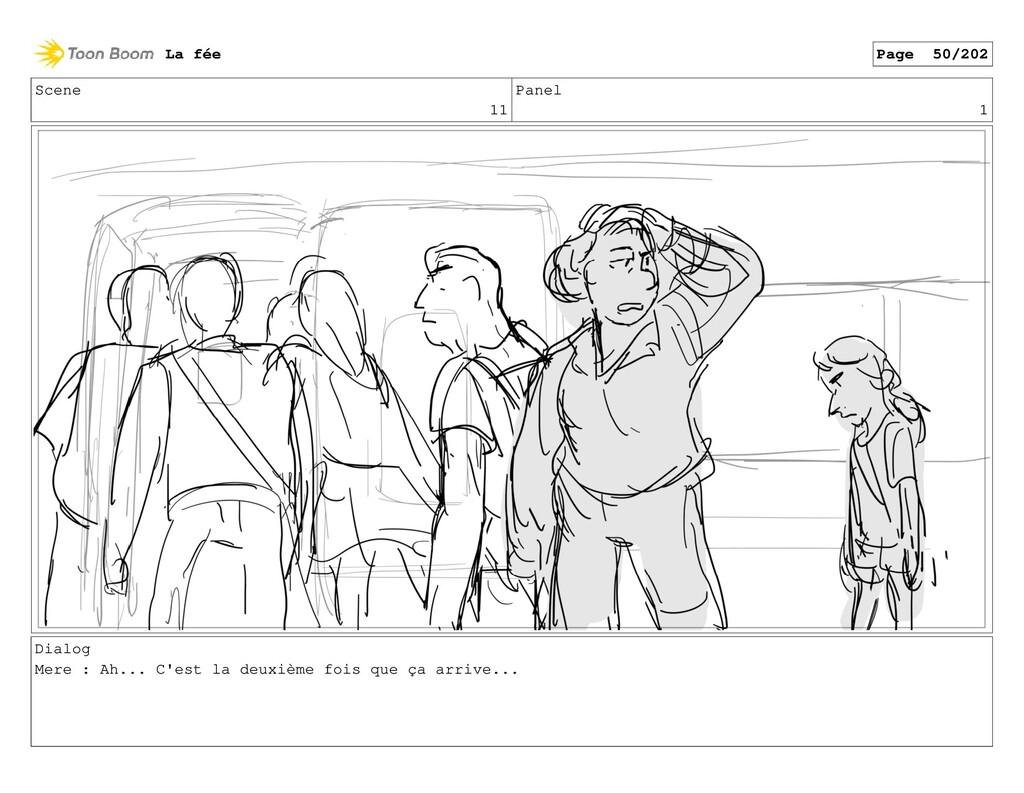 Scene 11 Panel 1 Dialog Mere : Ah... C'est la d...