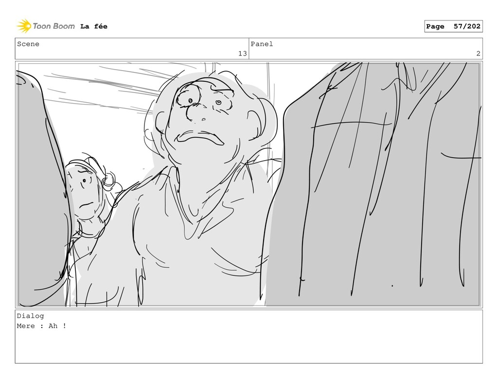 Scene 13 Panel 2 Dialog Mere : Ah ! La fée Page...
