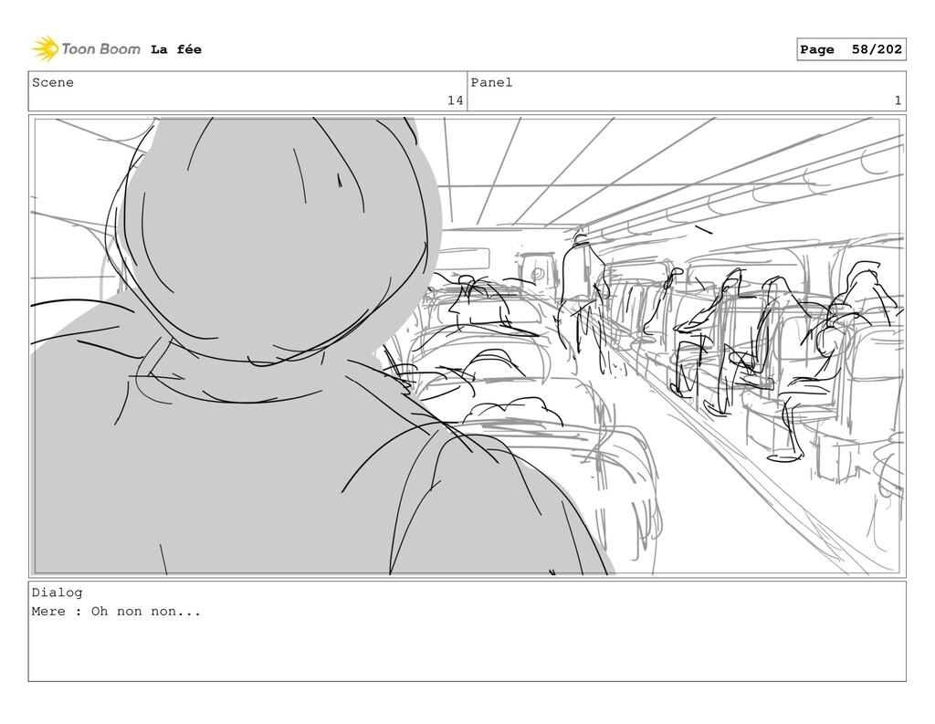 Scene 14 Panel 1 Dialog Mere : Oh non non... La...