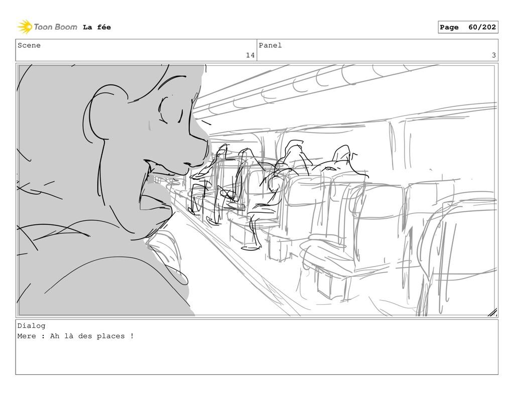 Scene 14 Panel 3 Dialog Mere : Ah là des places...