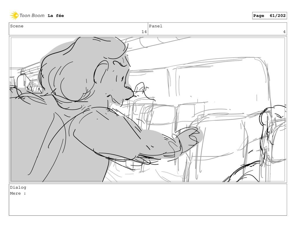 Scene 14 Panel 4 Dialog Mere : La fée Page 61/2...