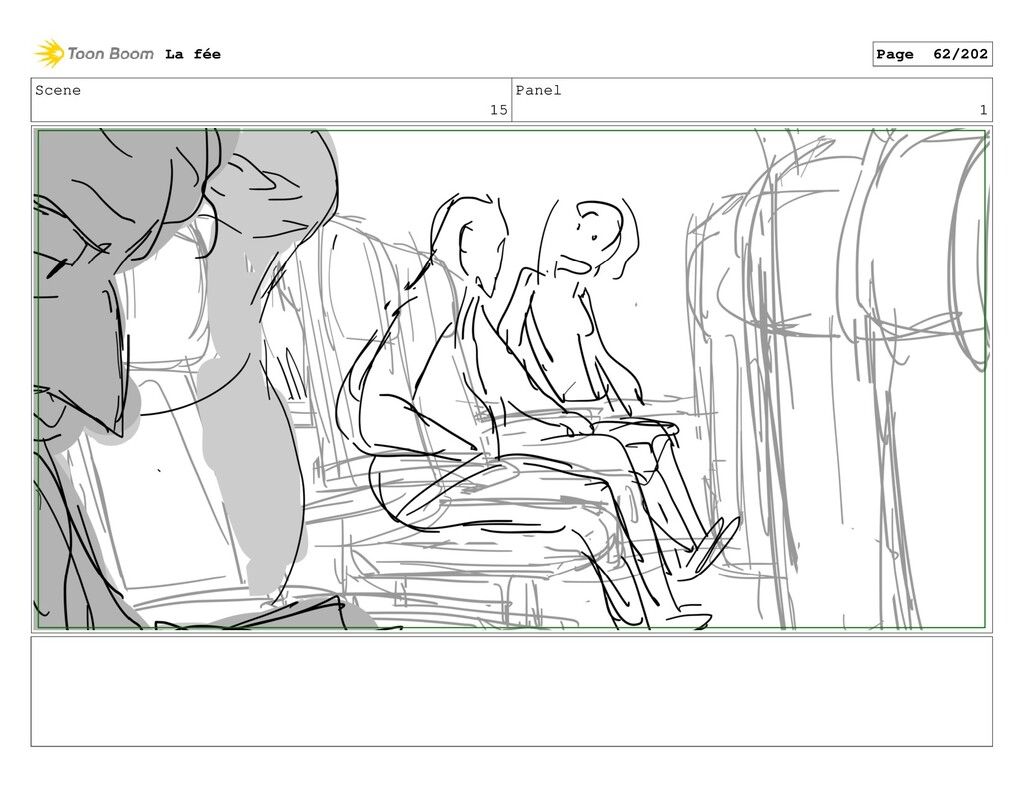 Scene 15 Panel 1 La fée Page 62/202