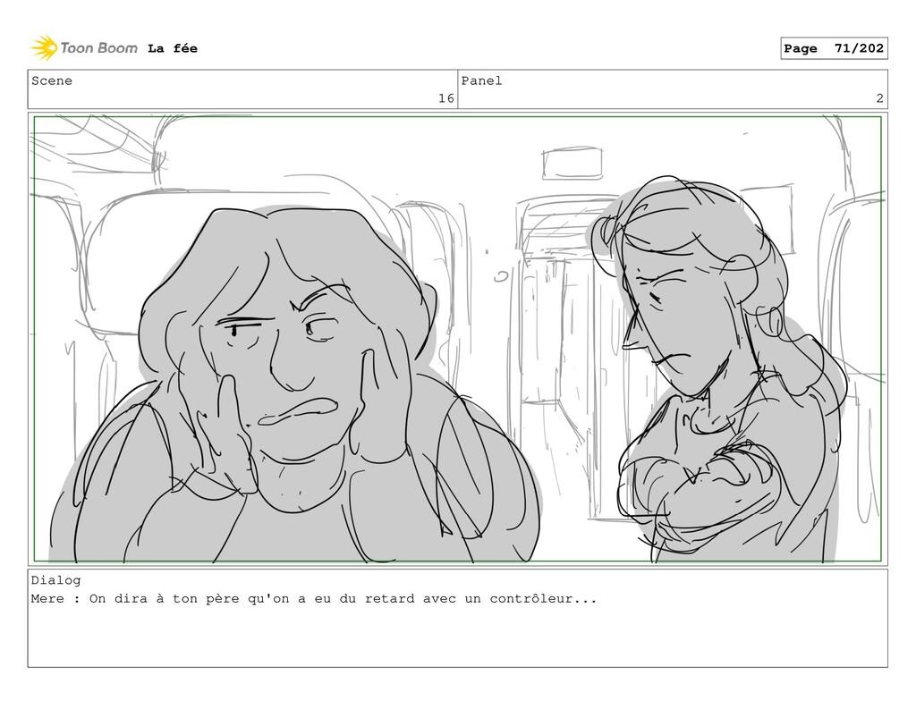 Scene 16 Panel 2 Dialog Mere : On dira à ton pè...