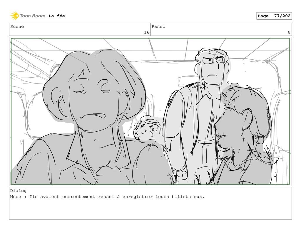 Scene 16 Panel 8 Dialog Mere : Ils avaient corr...