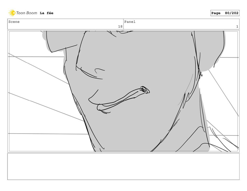 Scene 18 Panel 1 La fée Page 80/202