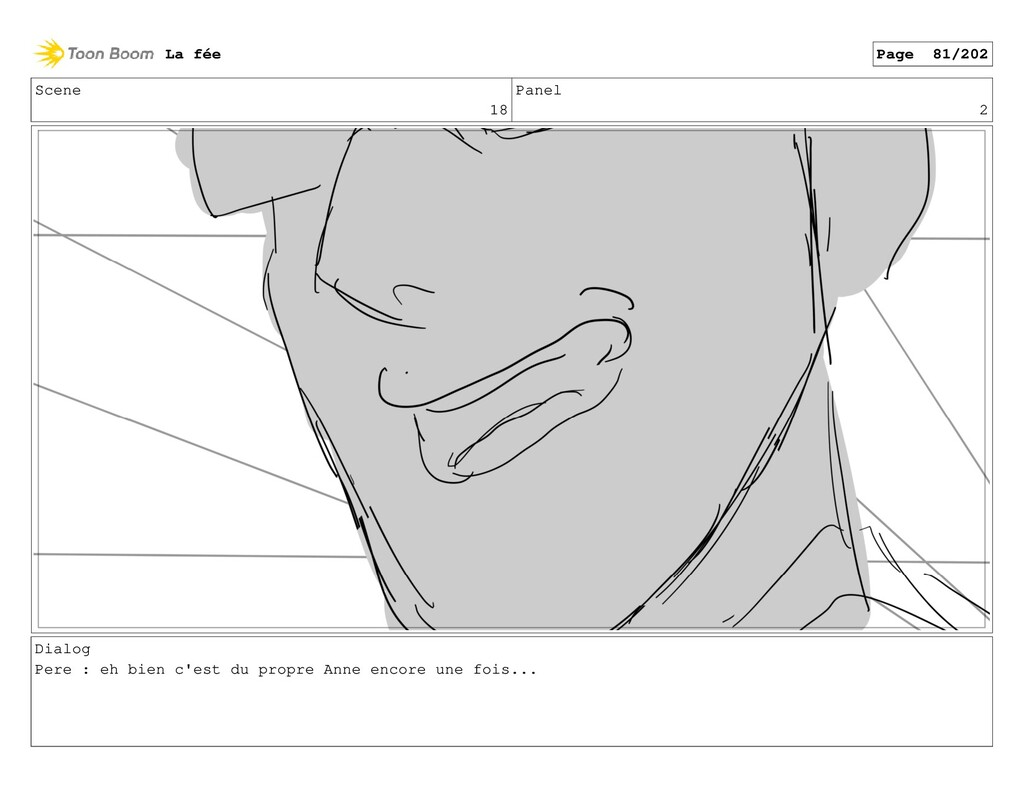 Scene 18 Panel 2 Dialog Pere : eh bien c'est du...