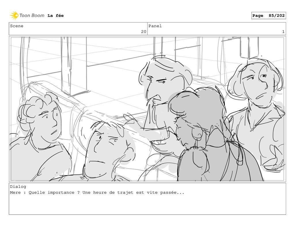 Scene 20 Panel 1 Dialog Mere : Quelle importanc...