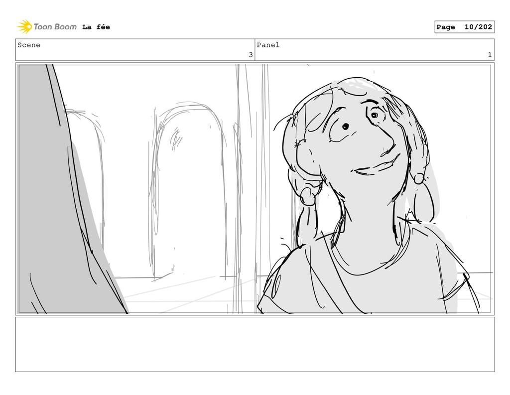 Scene 3 Panel 1 La fée Page 10/202