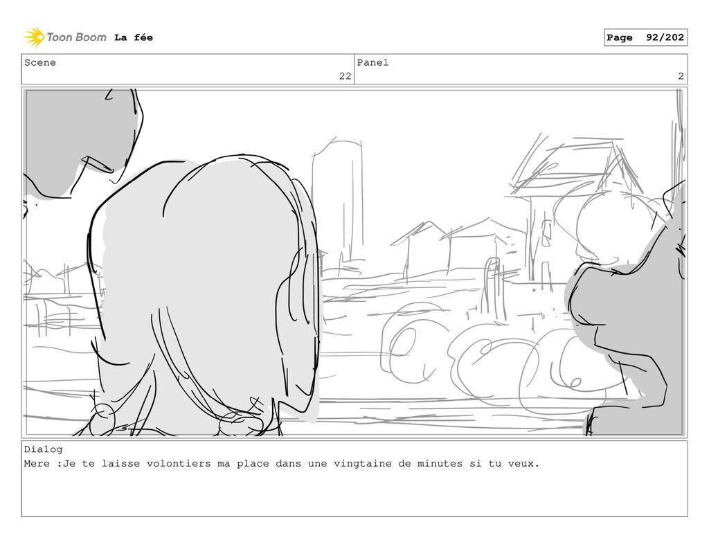 Scene 22 Panel 2 Dialog Mere :Je te laisse volo...