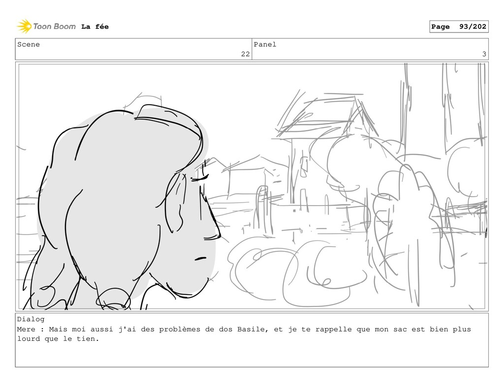 Scene 22 Panel 3 Dialog Mere : Mais moi aussi j...