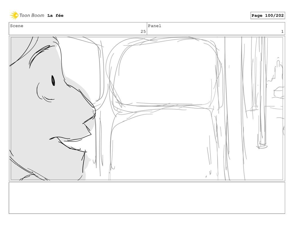 Scene 25 Panel 1 La fée Page 100/202