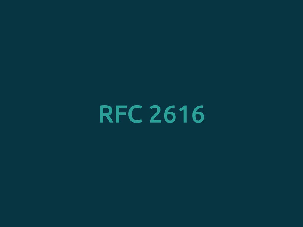 RFC 2616