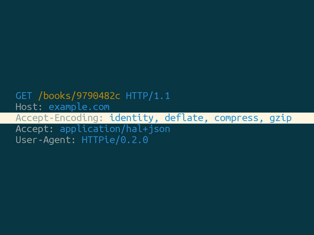 GET /books/9790482c HTTP/1.1 Host: example.com ...