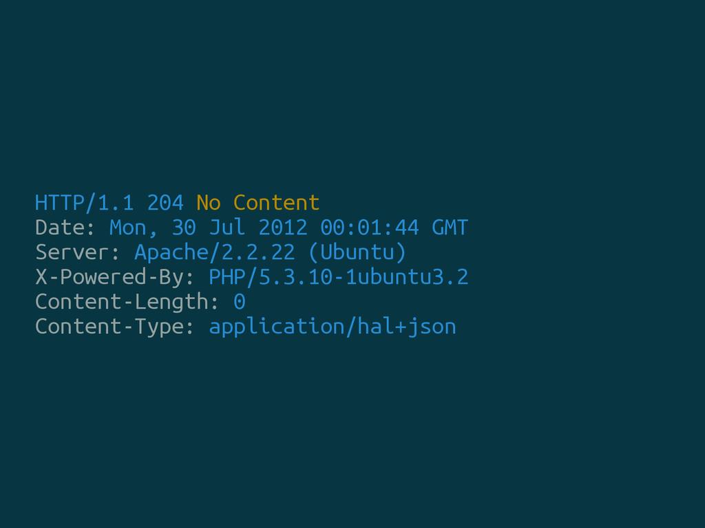 HTTP/1.1 204 No Content Date: Mon, 30 Jul 2012 ...