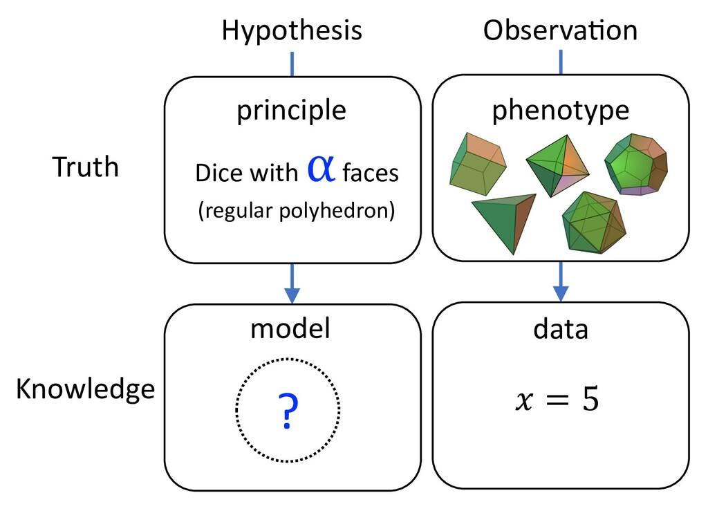 Hypothesis ObservaEon Truth Knowledge principle...