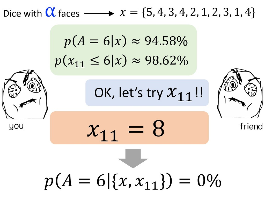 $ ) = 6 ! ≈ 94.58% $ !$$ ≤ 6 ! ≈ 98....