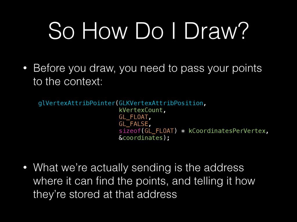 So How Do I Draw? • Before you draw, you need t...