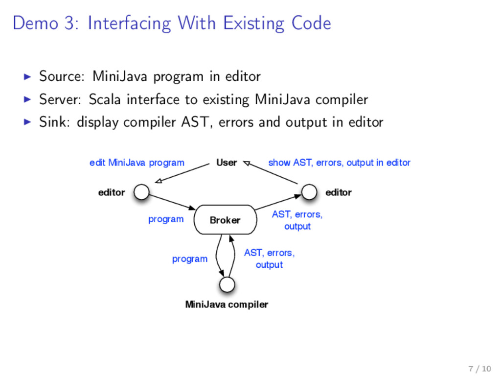 Demo 3: Interfacing With Existing Code Source: ...
