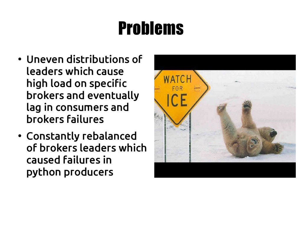 Problems ● Uneven distributions of leaders whic...