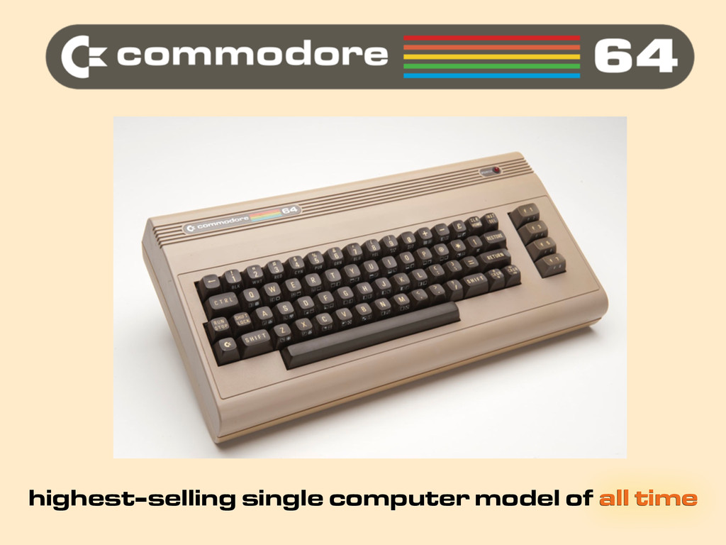 highest-selling single computer model of all ti...