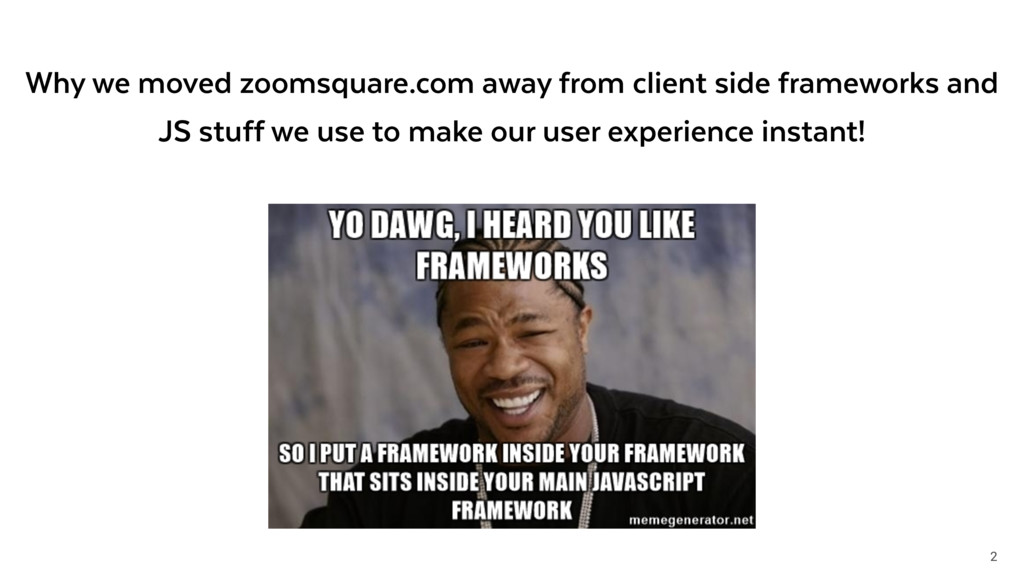 2 Why we moved zoomsquare.com away from client ...