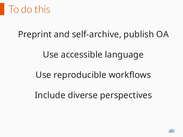 To do this Preprint and self-archive, publish O...