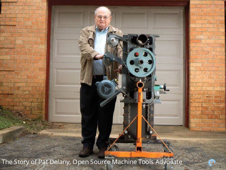 21 The Story of Pat Delany, Open Source Machine...