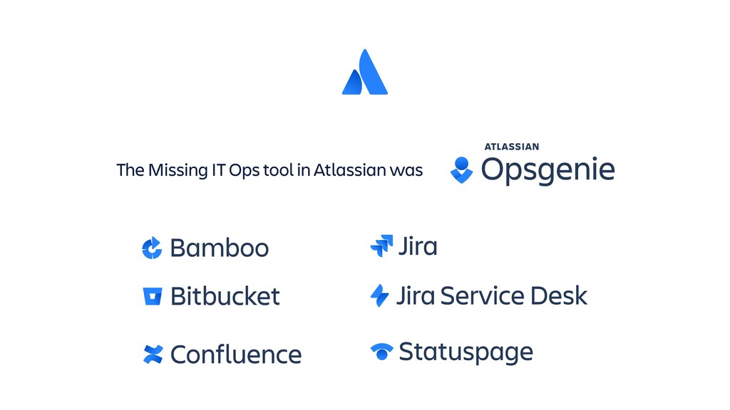 The Missing IT Ops tool in Atlassian was