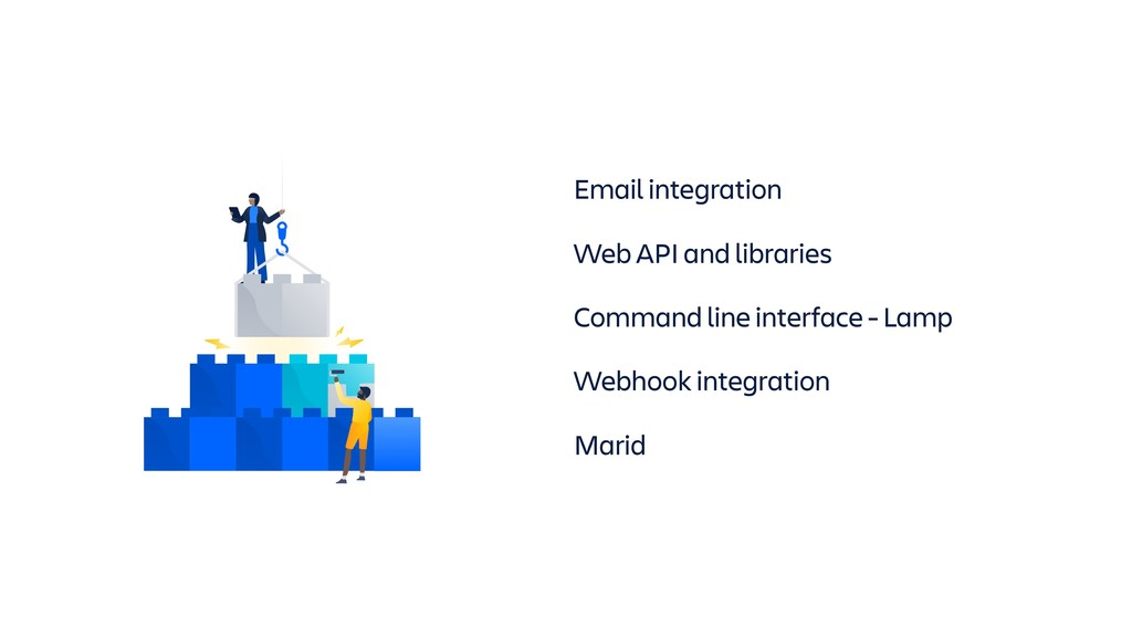 Email integration Web API and libraries Command...