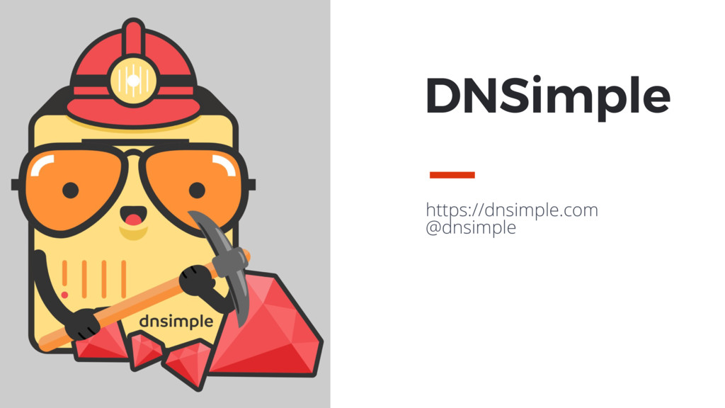 MAXBORN https://dnsimple.com @dnsimple DNSimple