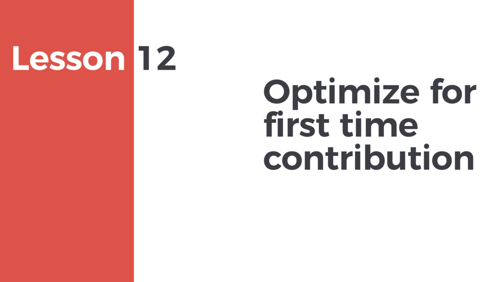 Optimize for first time contribution MAXBORN Le...