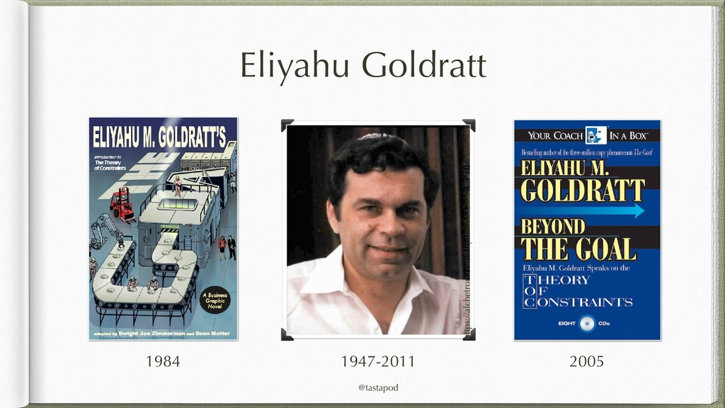 @tastapod Eliyahu Goldratt https://alchetron.co...
