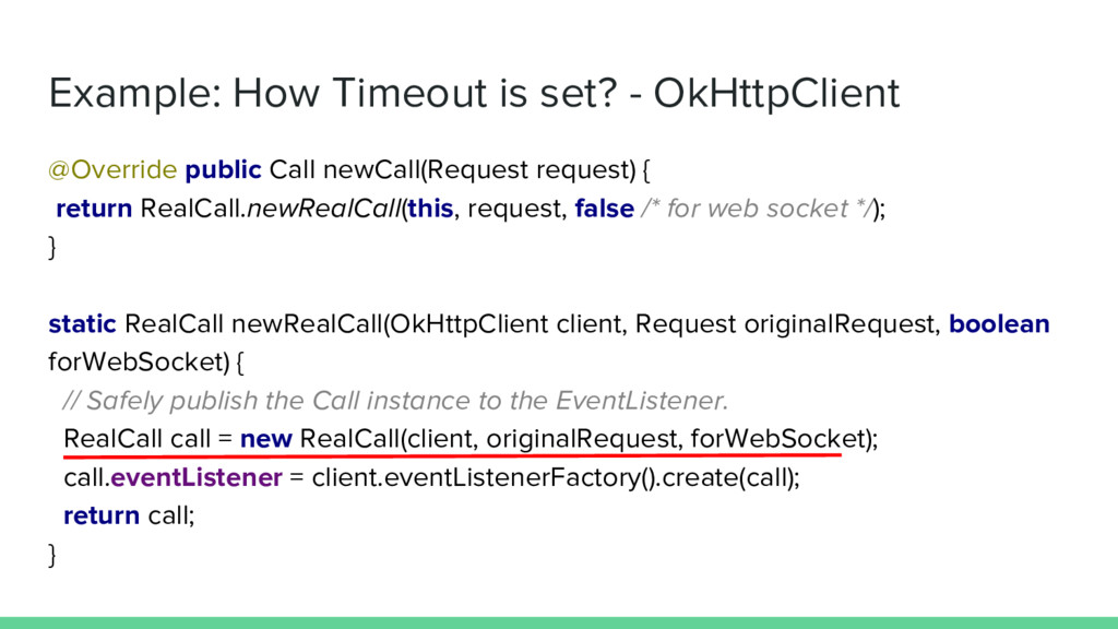 Example: How Timeout is set? - OkHttpClient @Ov...