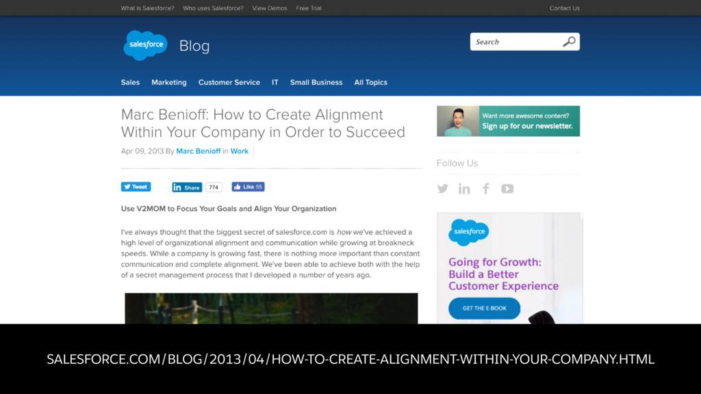 SALESFORCE.COM/BLOG/2013/04/HOW-TO-CREATE-ALIGN...