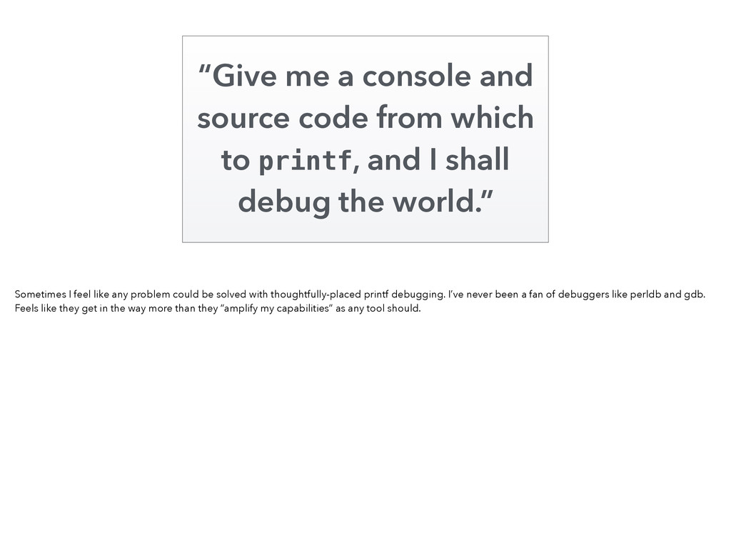 """""""Give me a console and source code from which t..."""