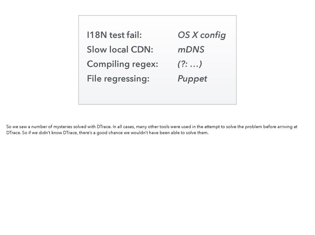 I18N test fail: OS X config Slow local CDN: mDNS...