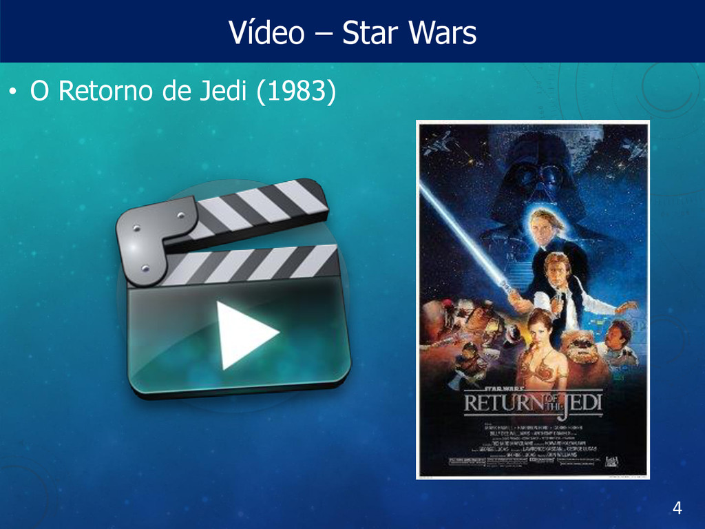 Vídeo – Star Wars • O Retorno de Jedi (1983) 4