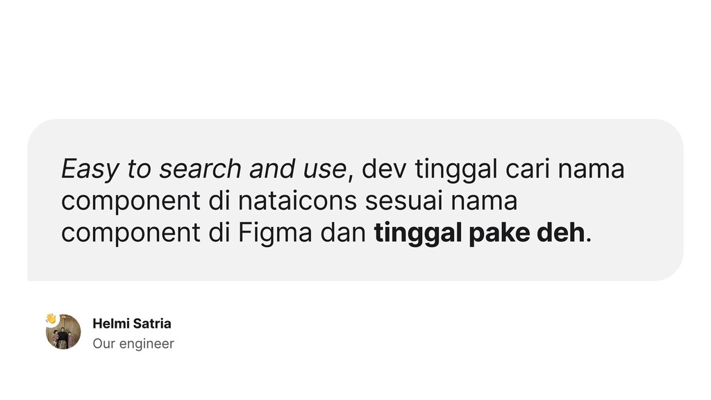 Easy to search and use, dev tinggal cari nama c...