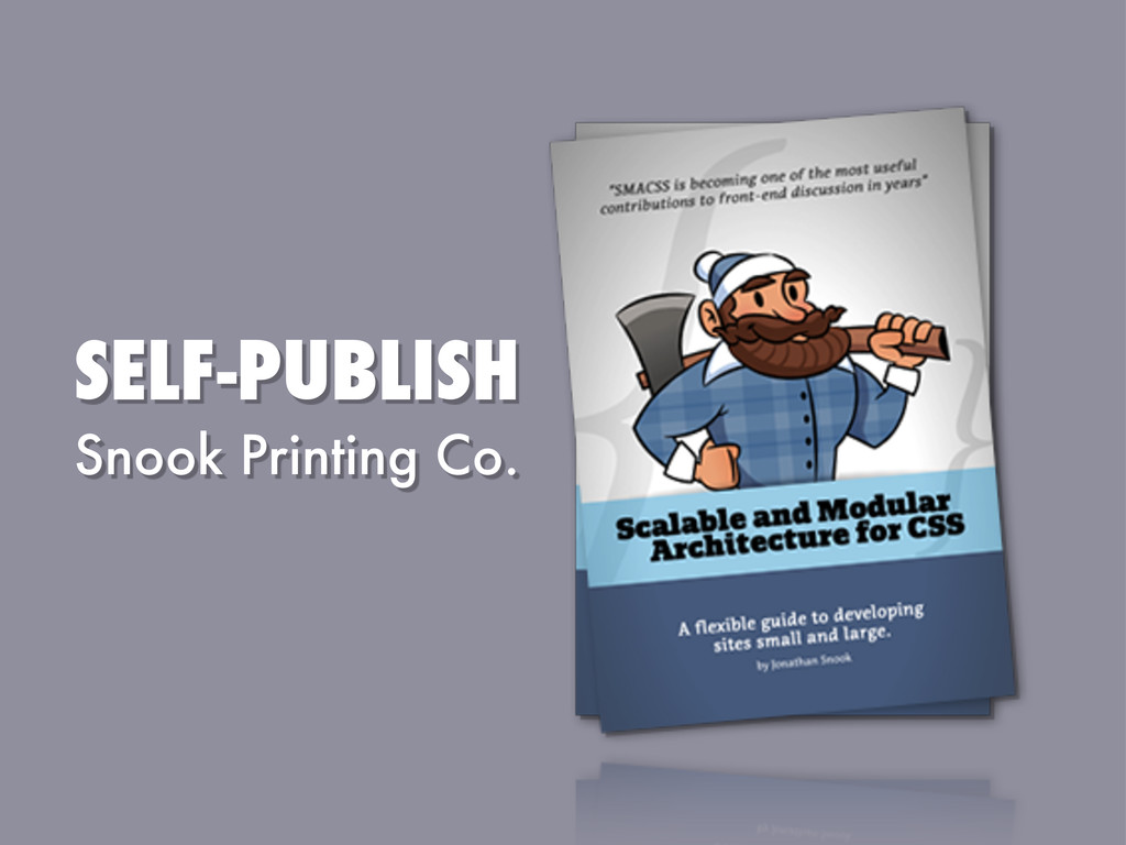 SELF-PUBLISH Snook Printing Co.
