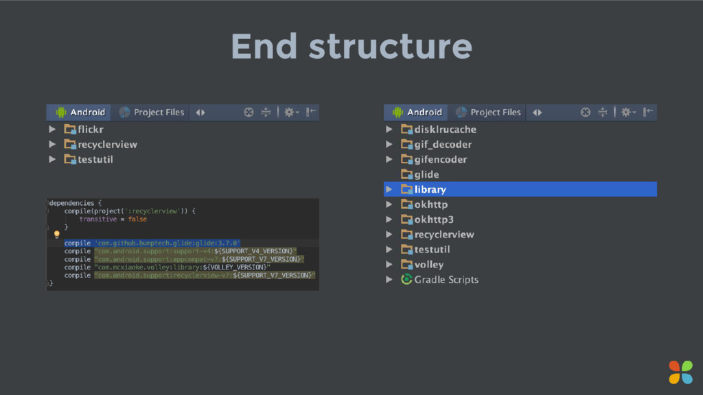 End structure