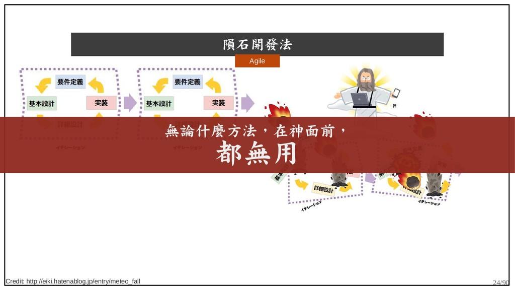 24/90 隕石開發法 Credit: http://eiki.hatenablog.jp/e...