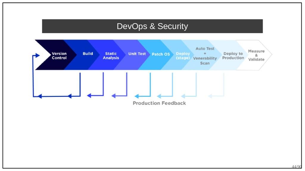 44/90 DevOps & Security